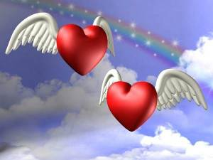 Angel-Red-Hearts-in-Sky-HD-Wallpapers